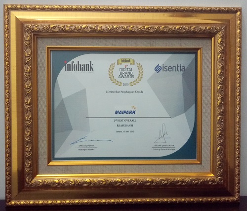 The 2nd Rank 8th Info Bank Digital Award 2019 Category Reinsurance